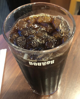 ドトールコーヒーショップ - アイスコーヒー(S) 224円