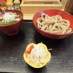 高円寺肉汁うどん 夕虹 - 肉汁うどん並730円