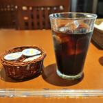 オステリア リュカ - アイスコーヒー