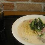 quick pasta COPIN - アイスコーヒーとパスタ(セットで\680)