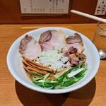 中華そば うえまち - 和え麺  (大盛り) 和だし汁付