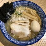 焼きあごラーメン 侍道 - 焼きあごラーメン(塩・特製)(980円)