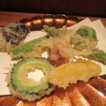 しろう - 「夏野菜天ぷら」