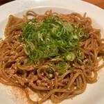 丿貫 - 丿貫(葱醤油焼きソバ)