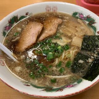 麺家 たか志 - 料理写真:醤油ラーメン620円