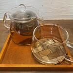 cafe こころひかる - アールグレイ〜HOT〜(400円)