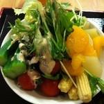 うるとら食堂 - サラダバイキング 1皿盛り放題