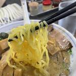 ラーメン 前田家 - 麺固め