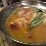 パスタバール タスパ - 魚介たっぷりのブイヤベース(\1,680-)