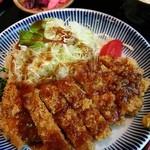 まきばの湯 温泉レストラン - SGPとんかつ定食1600円