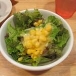 創作Dining Riabbra - サラダ