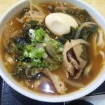 15365879 - 豚角煮うどん(ピリ辛)