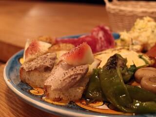 オステリアウララ - Oct, 2012 鶏レバーパテ