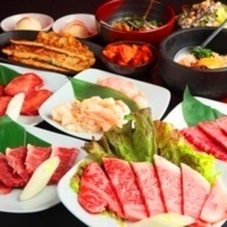 【人気!】国産牛食べ飲み放題コース 男性3580円、女性3380円
