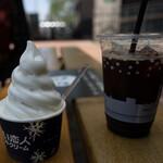 白い恋人パーク ソフトクリームハウス - 料理写真:
