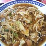 福寿飯店 - 料理写真:皿うどん