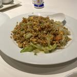 伯楽家常菜 - 上海蟹味噌炒飯。