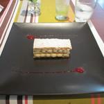 シェ オリビエ - ミルフィーユ ヴァニラ風味