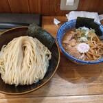 つけ麺 冨 - 料理写真:特製つけ麺冷大盛