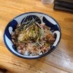 つけ麺 冨 - チャーシュー丼