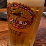 居酒屋 安兵衛 - 生ビール