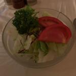 CHACOあめみや - セット 660円 のサラダ