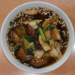 鳳林 - しいたけそば ※香港麺を選択