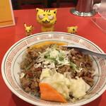 台湾料理 味仙 - 台湾丼 ※生卵、上手く割れんかった~~