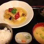 和み - ランチ カレイのみぞれ煮600円