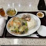中国料理 山丁 - 料理写真:中華定食①
