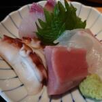 藁焼きと茶碗蒸し 西新橋魚金 -