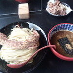 三田製麺所 - トンカラつけ麺1040円