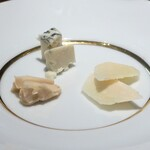 トラットリア パッパ - 追加のチーズ盛り合わせ(1人分)