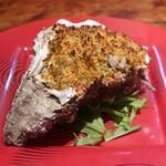 トラットリア パッパ - 料理写真:岩牡蠣の香草パン粉焼き(1人分)
