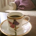 カフェ ド シャノアール - テイスティングさせていただきました、フリーペーパーと同じ写真!!笑