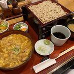 そばや 池乃家 - 親子丼セット(蕎麦大盛り)