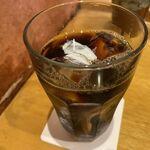 そばや 池乃家 - アイスコーヒー