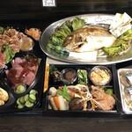 十和田はつ花 蕎麦&ワイン居酒屋 - お食い初め膳2