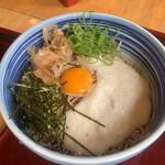 あずま - 山芋ぶっかけ 3玉 税込935円