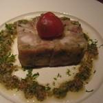 葡萄屋 - もち豚と生ハムと豚足の煮こごり