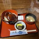 小角食堂 - 料理写真:あんかけミニひれかつ丼