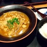 夢庵 - 料理写真:夢庵カレーうどんと御飯