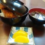鳥忠食堂 - 料理写真:ささみかつ丼