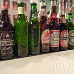 BAR Clover - ビールも豊富。なんとバス・ペールエールが生で飲める(掲載承諾済)