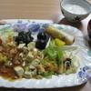 Kintsuboshokudou - 料理写真:精進料理をプレートにて
