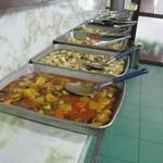 金壷食堂 - 品数は8種類程有りました