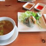 キンカオコン - ランチ 前菜とスープ