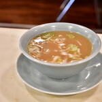 龍朋 - 【チャーハン@税込770円】スープ