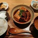酒場シナトラ - 肉豆腐セット