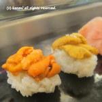 菊寿司 - 2012/10 うに